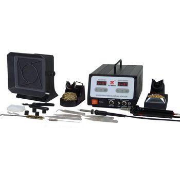 LF-8800 Soldeer en de-soldeerstation 100 w ch / f (cee 7/4)