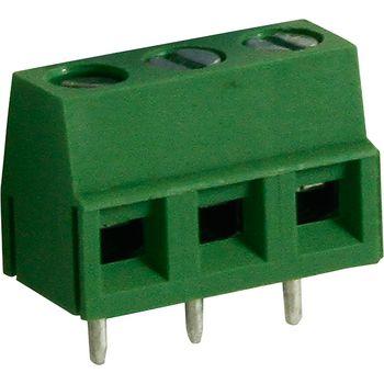 RND 205-00046 Pcb terminal block toonhoogte 5 mm horizontaal 3p