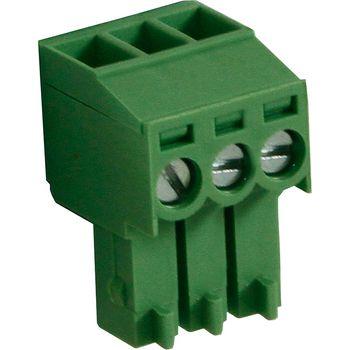 RND 205-00090 Female plug screw terminal schroef connectie 3p