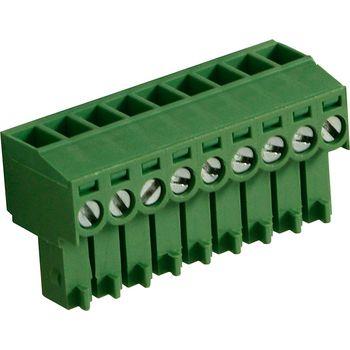 RND 205-00096 Female plug screw terminal schroef connectie 9p
