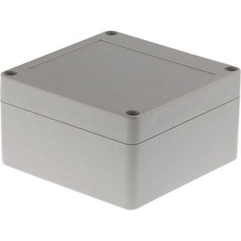 RND 455-00122 Kunststof behuizing 100 x 100 x 55 mm lichtgrijs pc ip65