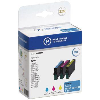 4184191 Cartridge 4184191 replaces epson t1292/3/4 cyaan/magenta/geel 12.4 ml