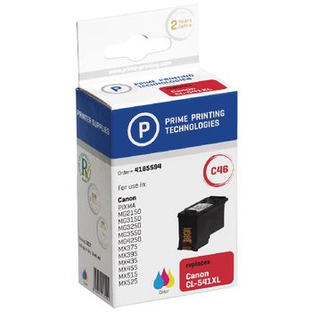 4185594 Cartridge 4185594 replaces canon cl-541xl cyaan/magenta/geel 15 ml