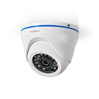 4IN1CDW10WT Cctv-beveiligingscamera | maximale resolutie: full hd 1080p | nachtzicht: 20 m | netvoeding | beeld  Product foto