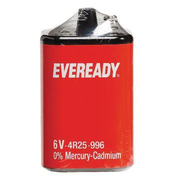 614072 Zink-koolstof batterij 4r25 6 v 1-pack Verpakking foto