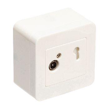 695020393 Antenne wandcontactdoos signaalovernamepunt 2.5 db wit Product foto