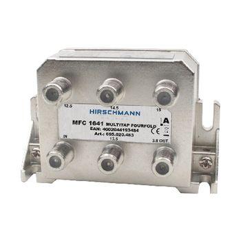 695020463 Catv-splitter 3.6 db / 5-1218 mhz - 4 uitgangen