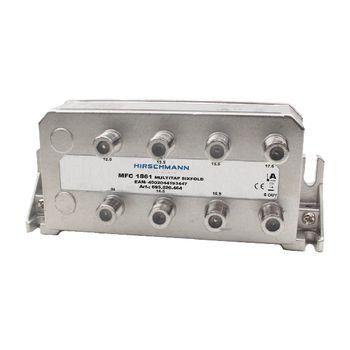 695020464 Catv-splitter 2.0 db / 5-1218 mhz - 6 uitgangen