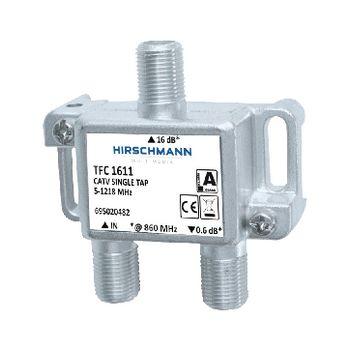 695020482 Catv-splitter 1.0 db / 5-1218 mhz - 1 uitgang
