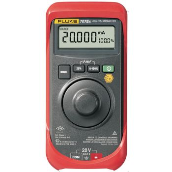 707EX Intrinsically safe current loop calibrator