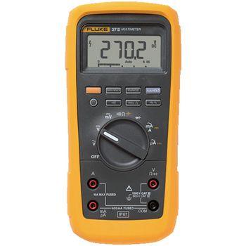27-II/EUR Digitale multimeter fluke 27-ii/eur rms 6000 cijfers 1000 vac 1000 vdc 10 adc