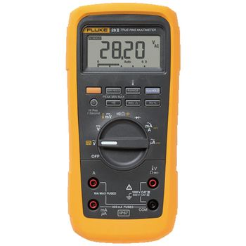 28-II/EUR Digitale multimeter fluke 28-ii/eur trms ac 19 999 cijfers 1000 vac 1000 vdc 10 adc
