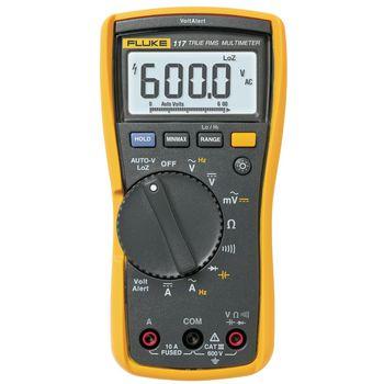 117 Digitale multimeter fluke 117 trms ac 6000 cijfers 600 vac 600 vdc 10 adc