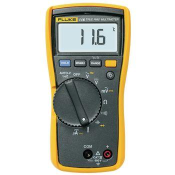 116 Digitale multimeter fluke 116 trms ac 6000 cijfers 600 vac 600 vdc 0.0006 adc