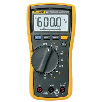 115 Digitale multimeter fluke 115 trms ac 6000 cijfers 600 vac 600 vdc 10 adc