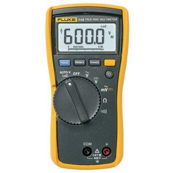114 Digitale multimeter fluke 114 trms ac 6000 cijfers 600 vac 600 vdc