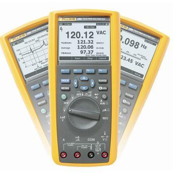 289/EUR Digitale multimeter fluke 289/eur trms ac+dc 50 000 cijfers 1000 vac 1000 vdc 10 adc
