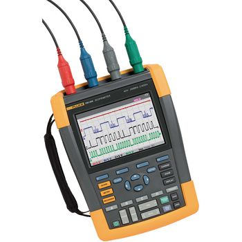 190-104/EU Handheld oscilloscope scopemeter 4x100 mhz 1.25 gs/s