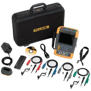 190-104/EU Handheld oscilloscope scopemeter 4x100 mhz 1.25 gs/s Product foto