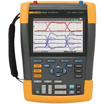 190-062/EU Handheld oscilloscope scopemeter 2x60 mhz 0.625 gs/s