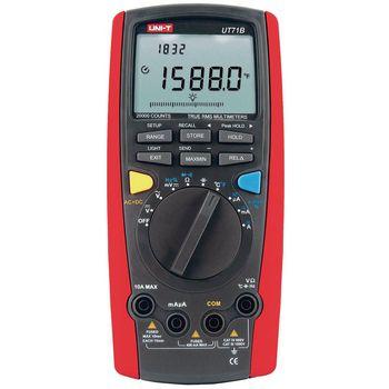 UT71B Digitale multimeter trms 20 000 cijfers 1000 vac 1000 vdc 10 adc
