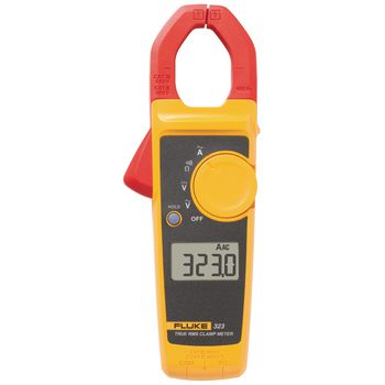 323 Current clamp meter, 400 aac, trms ac