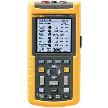 125/001 Handheld oscilloscope scopemeter 2x40 mhz 0.025 gs/s