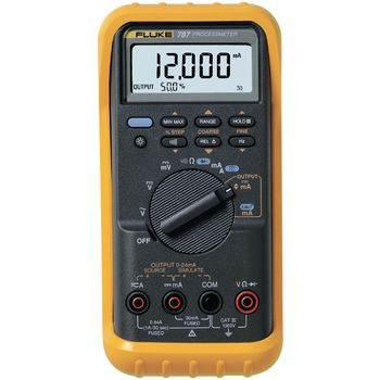 787/E Process multimeter, trms ac, lcd / backlight, 1000 vac, 1000 vdc, 1 adc