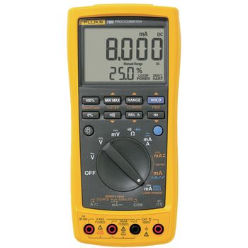 789/E Process multimeter, trms ac, lcd / backlight, 1000 vac, 1000 vdc, 1 adc