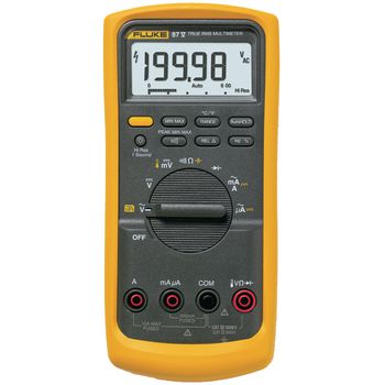 87-V Digitale multimeter fluke 87-v trms ac 20 000 cijfers 1000 vac 1000 vdc 10 adc Product foto