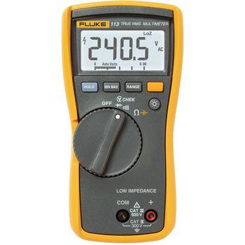 113 Digitale multimeter fluke 113 trms ac 6000 cijfers 600 vac 600 vdc