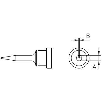 LT 1SC Soldeerstift beitelvormig, smal