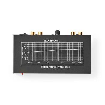 AAMP2401BK Voorversterker | 2 kanalen | rca | voor platenspeler Product foto