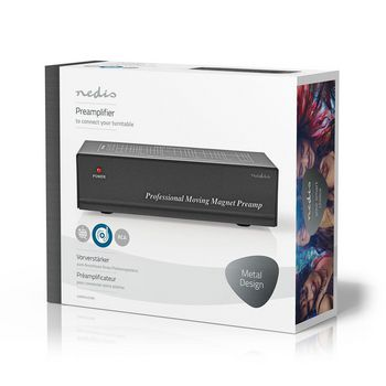 AAMP2401BK Voorversterker | 2 kanalen | rca | voor platenspeler Verpakking foto