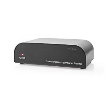 AAMP2411BK Voorversterker | input: 1x rca | output: 1x rca | phono / platenspeler | automatisch | zwart Product foto