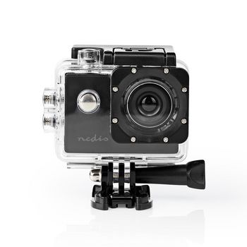 ACAM04BK Action cam | 720p@30fps | 5 mpixel | waterbestendig tot: 30.0 m | 90 min | mounts inbegrepen | zwart