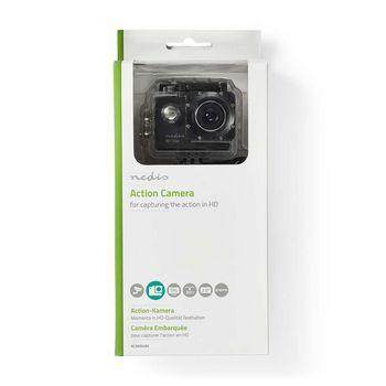ACAM04BK Action cam | 720p@30fps | 5 mpixel | waterbestendig tot: 30.0 m | 90 min | mounts inbegrepen | zwart  foto