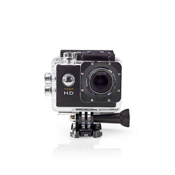 ACAM10BK Actioncam | hd 720p | waterdichte behuizing