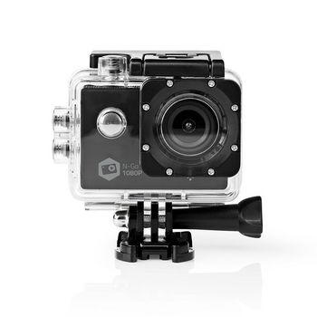 ACAM21BK Action cam   1080p@30fps   12 mpixel   waterbestendig tot: 30.0 m   90 min   wi-fi   app beschikbaar