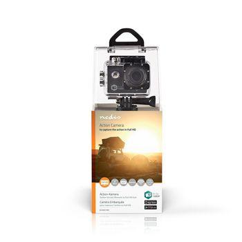 ACAM21BK Action cam   1080p@30fps   12 mpixel   waterbestendig tot: 30.0 m   90 min   wi-fi   app beschikbaar  foto