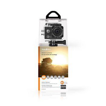 ACAM61BK Action cam | 4k@60fps | 20 mpixel | waterbestendig tot: 30.0 m | 90 min | wi-fi | app beschikbaar vo  foto