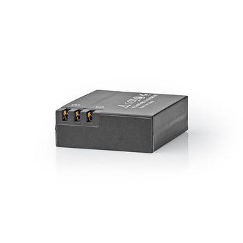 ACBT20BK Vervangende batterij voor actioncam | 1000 mah | max. 90 minuten | 3,7 v Product foto