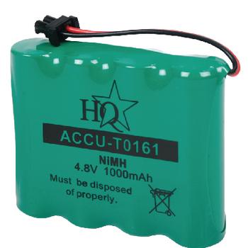 ACCU-T0161 Oplaadbare nimh batterij pack 4.8 v 1000 mah 1-polybag