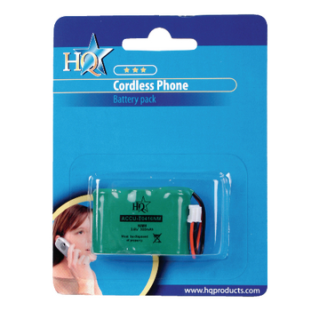 ACCU-T0416NM Oplaadbare nimh batterij pack 3.6 v 300 mah 1-blister