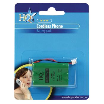 ACCU-T0424 Oplaadbare nimh batterij pack 3.6 v 550 mah 1-blister