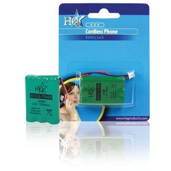ACCU-T0424 Oplaadbare nimh batterij pack 3.6 v 550 mah 1-blister Verpakking foto