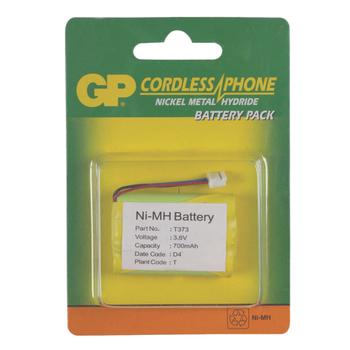 ACCU-T373 Oplaadbare nimh batterij pack 3.6 v 700 mah 1-blister Verpakking foto