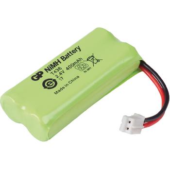 ACCU-T436 Oplaadbare nimh batterij pack 2.4 v 500 mah 1-blister