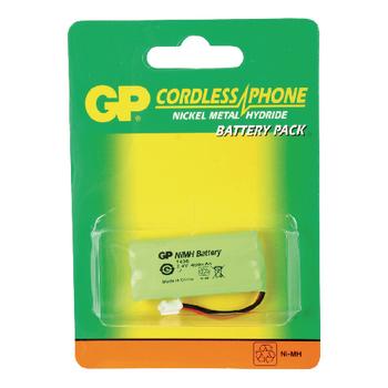 ACCU-T436 Oplaadbare nimh batterij pack 2.4 v 500 mah 1-blister Verpakking foto
