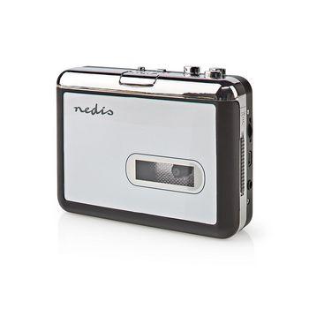 ACGRU100GY Cassettebandjes digitaliseren | draagbaar | output: 1x 3,5 mm / 1x mini usb | accessoires: usb-kabel Product foto